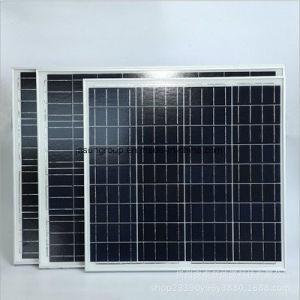 40W waterdichte Polycrystalline PV ZonneModule voor Vierkant Licht