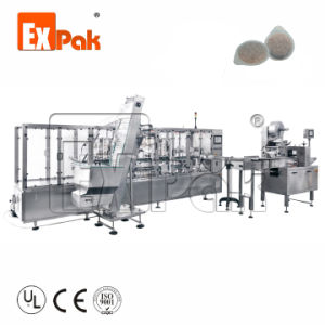 Nova tecnologia aprovado pela CE café Lavazza Cápsulas máquina de enchimento Cup máquina de enchimento de máquinas