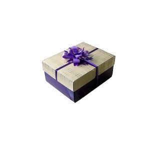 El cartón de papel de regalo de chocolate caja de embalaje