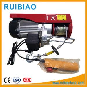 ケーブルのツールワイヤーロープの小型電気起重機110Vを引っ張るPA200