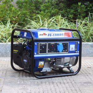비손 중국 1kVA 1000watt 가솔린에 의하여 강화되는 전기 발전기 가격