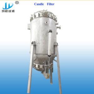Aço inoxidável do alojamento do filtro de mangas vários líquidos para o sistema de filtragem de água