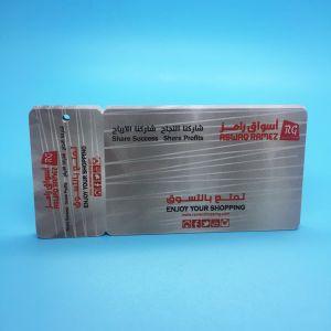 Scheda chiave classica in bianco di controllo di accesso di HF MIFARE 1K RFID dell'hotel 13.56MHz ISO14443A