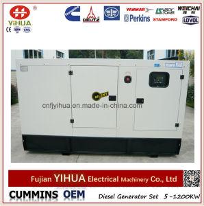 Cummins 62,5 kVA 50Kw de puissance électrique générateur diesel silencieux