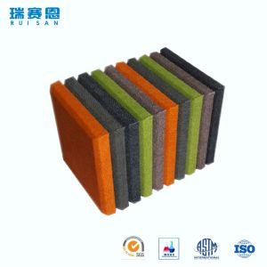 Fibre de polyester saine décorative d'épreuve, panneaux de mousse de studio d'isolation de mur