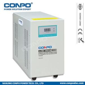 Jjw-3kVA digitaal condensator-Type/Ferro Resonerend, de Precisioin Gezuiverde Automatische Stabilisator/de Regelgever van het Voltage