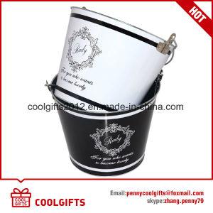 Alimentação de fábrica balde de gelo da Corona de estanho para promoção de cerveja com tampa