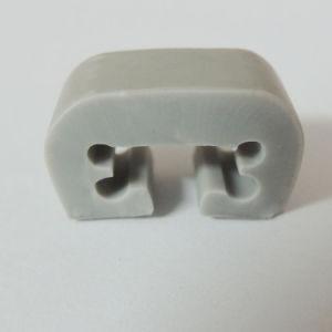 Extrusión de plástico gris Lavadora TIRA tira de plástico de PVC de paragolpes