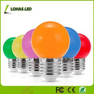 1,5 W coloridos G14 E27 Lâmpadas do globo para decoração de árvore de Natal
