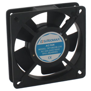 Небольшой компактный 20W 115 В 50 Гц 2300 об/мин постоянный электровентилятора системы охлаждения двигателя (SF10825)