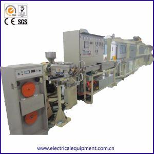 Máquina extrusora Micro-Fine para fios e cabos coaxiais de Teflon