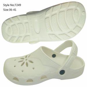 9b7d200f37 Tamancos de plástico transparente de praia de moda sapatos para Mulheres