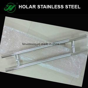 304ステンレス鋼のガラスドアHの形のハンドル