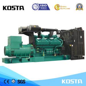 Generatore diesel raffreddato ad acqua superiore 625kVA/500kw alimentato da Cummins per uso domestico