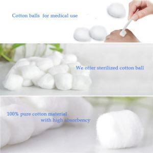 Absorbente médicos esterilizados bola de algodón con diseño OEM