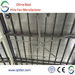 Sceglie 24 ventilatori della chiesa di FT (7.3m) con buon effetto di raffreddamento