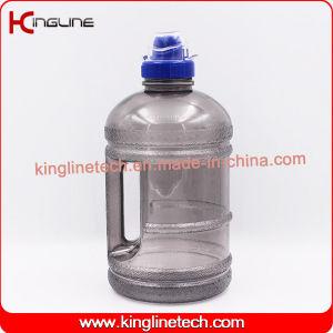 Petg 1.89Lプラスチック水ピッチの卸売BPAはスポーツの帽子(KL-8003B)が付いているハンドルによって放す、