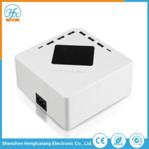 Portátil de viaje 8 Adaptador de USB cargador de teléfono móvil