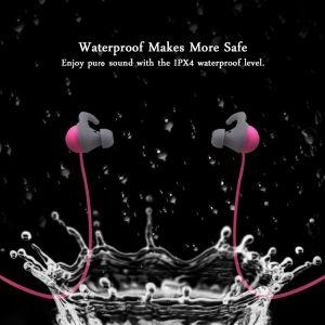 Enki無線音楽EarbudのイヤホーンのMicの14時間に提供する二重電池が付いているUltra-Light Bluetooth CSR4.1のスポーツの耳Ipx4 Sweatproofのヘッドホーンのヘッドセット