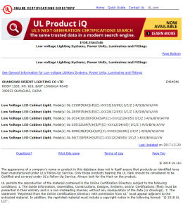 Riga indicatore luminoso del Ce dell'UL doppia di striscia di SMD1210 (3528) 240LEDs 24V 4000K LED