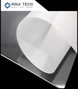 De acryl Plaat van de Gids van het Blad Lichte voor Reclame