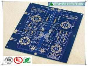 Camada 2 do FR4 Placa PCB com Soldermask azul