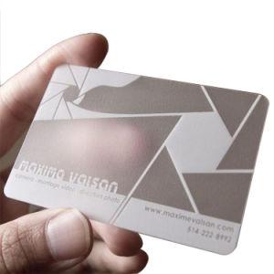 Impression Haute Qualite Personnalisee Des Cartes De Visite En Plastique Transparent