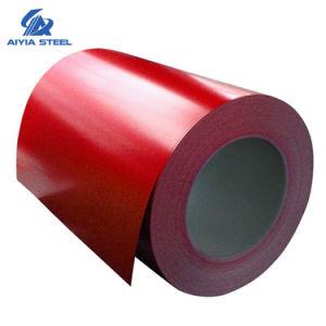 Aço revestido de cores Aiyia, Prepainted Galvalume/bobina de aço galvanizado (PPGI/PPGL) fabricados na China