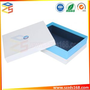 Boîte cadeau personnalisé de Carton emballage rigide épaisse Boîte avec couvercle et base