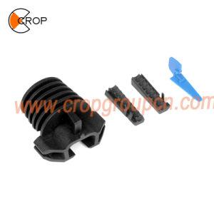 As conexões de cabo de fibra óptica soltar as braçadeiras de tensão do fio de ADSS