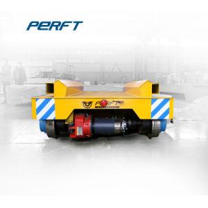 Tubo d'acciaio di serie di Bxc che tratta il carrello motorizzato di trasferimento sulla guida