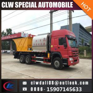 2018道路管理のトラック、販売のための6*4瀝青の砕石のトラックのための新しいアスファルト砂利