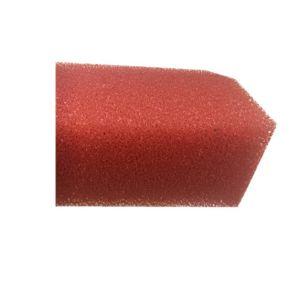 Filtre à mailles fines jaune mat d'un réfrigérateur à l'intérieur du panneau de mousse de filtre