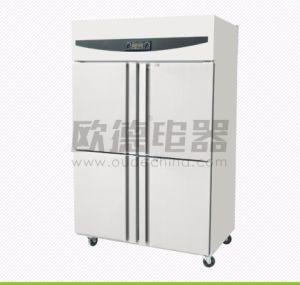 세륨에 의하여 승인되는 상업적인 두 배 4개 6개의 문 취사 도구 직접 냉각 냉장고