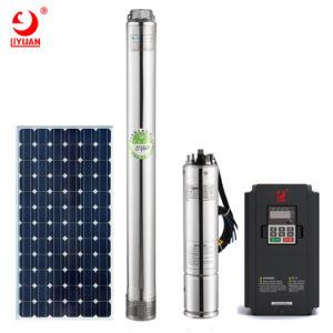 산업 태양 잠수할 수 있는 시추공 변환장치를 가진 전기 수도 펌프
