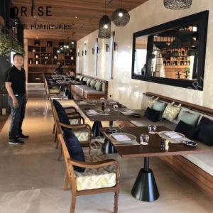 Het Dineren van het Hotel van de Eettafel van de Stoel van het Restaurant van de Plaatsing van de Cabine van het restaurant Meubilair