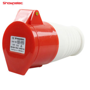 225 connettore industriale IP44 32A 3p+E+N