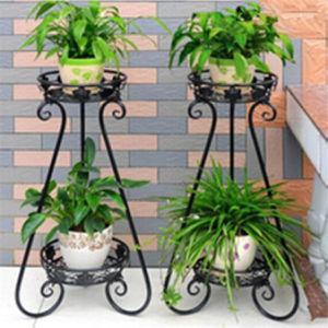 ヨーロッパのバルコニーおよび屋内植木鉢のホールダー