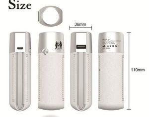 5000mAh cargador de teléfono portátil de luz táctil lápiz de labios del Banco de potencia con la luz