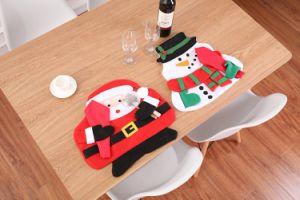 Accueil Décoration de Noël Festival de noël santa Snowman Tapis de table