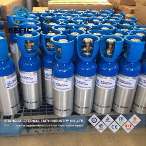 높은 순수성 의학 산소 사용 알루미늄 가스통