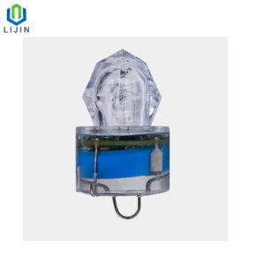 深海の捕獲物の魚の小型ダイヤモンドの餌の魅惑LED釣ライト