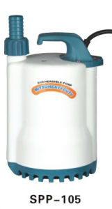 De Ce-goedgekeurde Pomp Met duikvermogen van de Tuin van het Roestvrij staal Plastic (v-450)