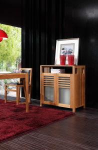Muebles de bambú Buffet Comedor Armario archivador