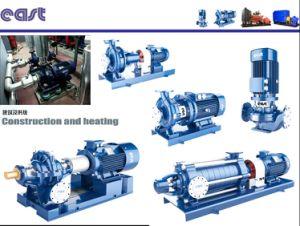 La velocidad de acero inoxidable 2900r/min Dfl en varias etapas de la bomba de tipo de canalización de aguas residuales de abastecimiento de agua