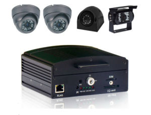 4channel Mobile DVR Digital Video Recorder, 4CH D1, G-Sensor