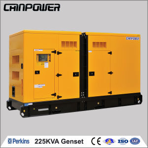 225kVA/180kw silencieux et de l'environnement Groupe électrogène Diesel Perkins (1306C-E87TAG4)