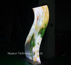 Ultra suave y flexible Panel de pantalla LED para la instalación
