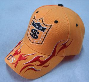 Amarelo sport Boné com bordados BB1006
