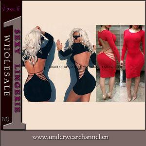 Commerce de gros Sexy Bodycon Backless Club Mini Robes parti d'usure (TP4514)